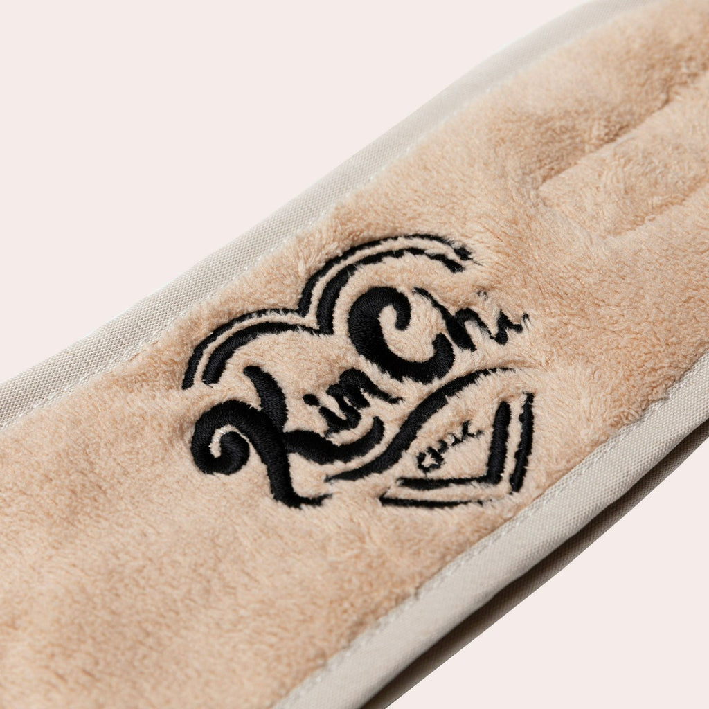 Terry Cloth Headband - Camel
