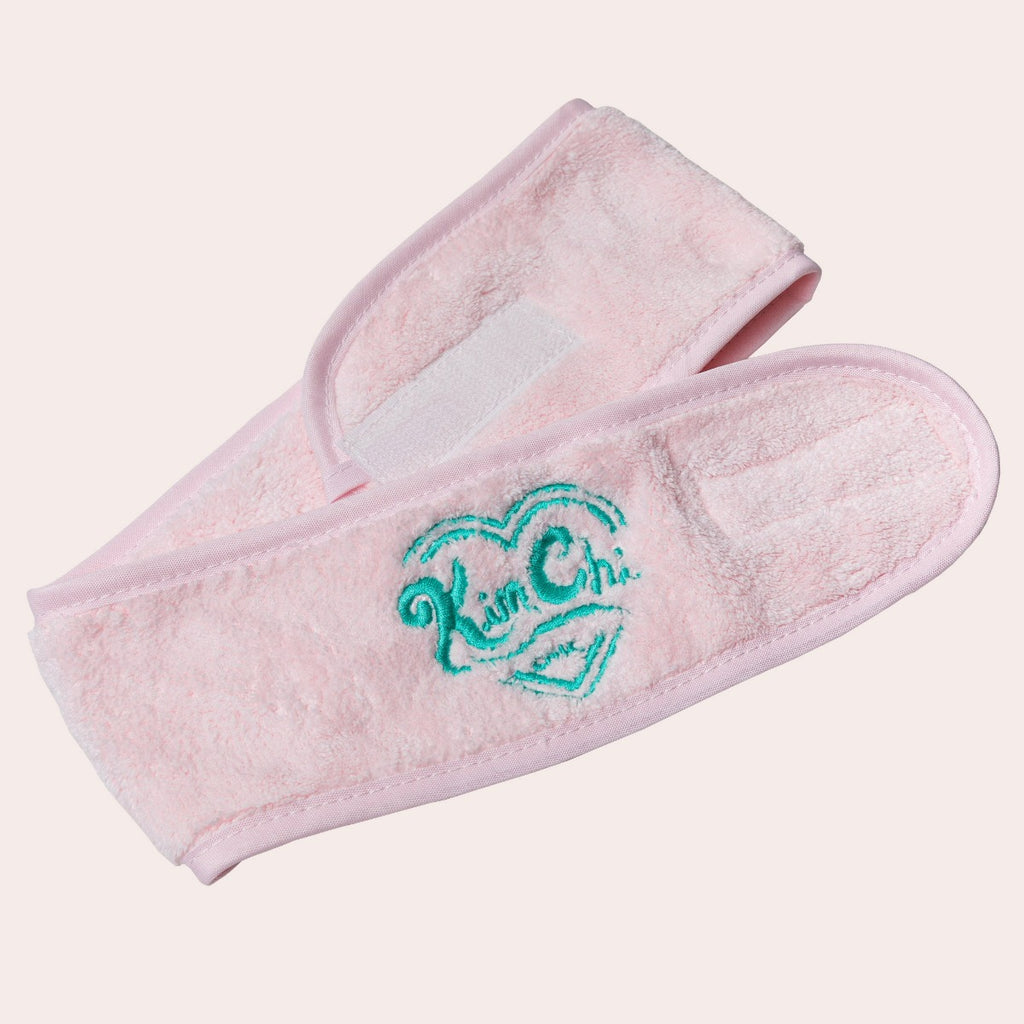 Terry Cloth Headband - Pink
