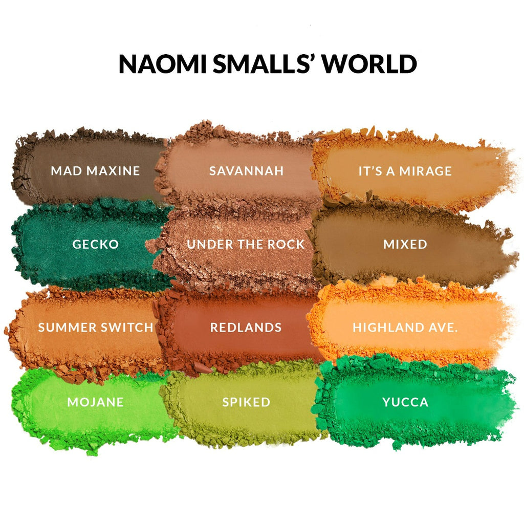 2 Queens In 1 Desert - Mad Maxine, Soot Yourself Naomi Small's World Swatches