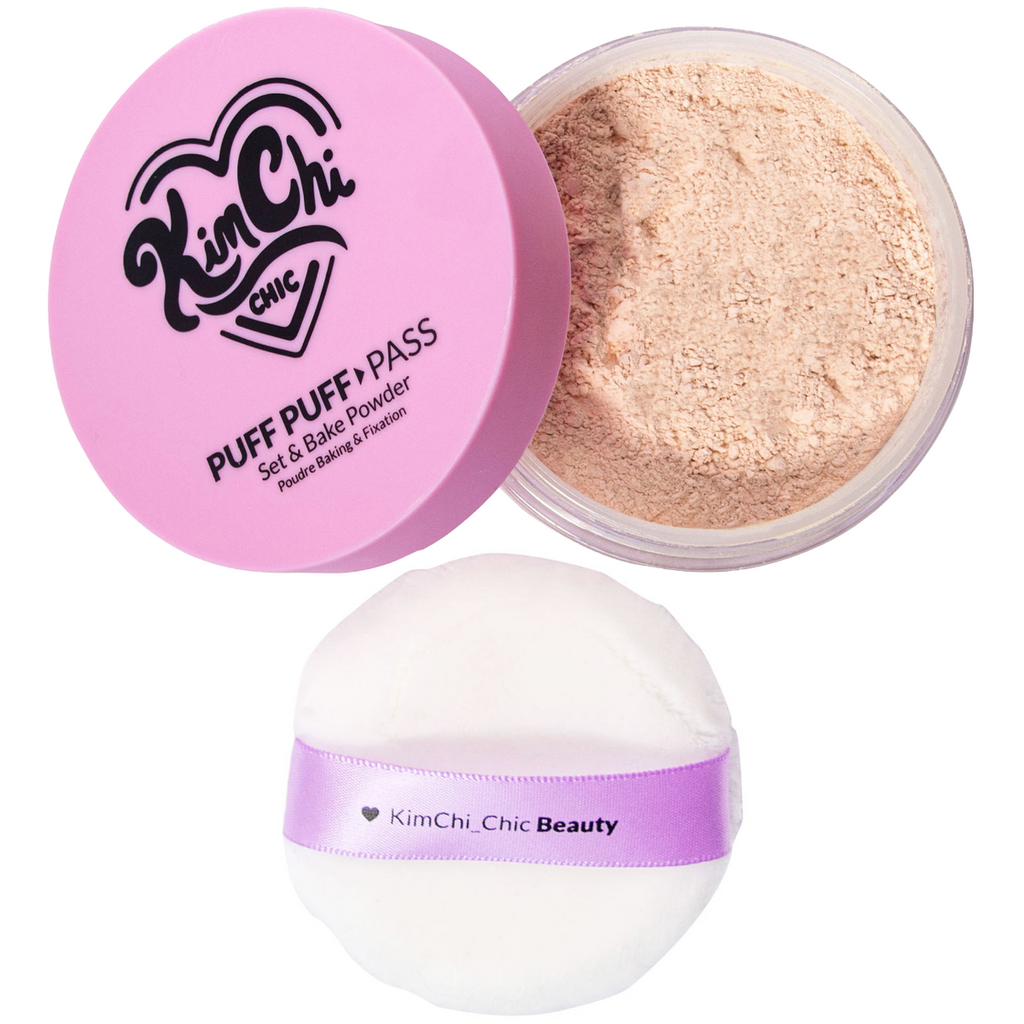 PPP - 03 Translucent and powder puff