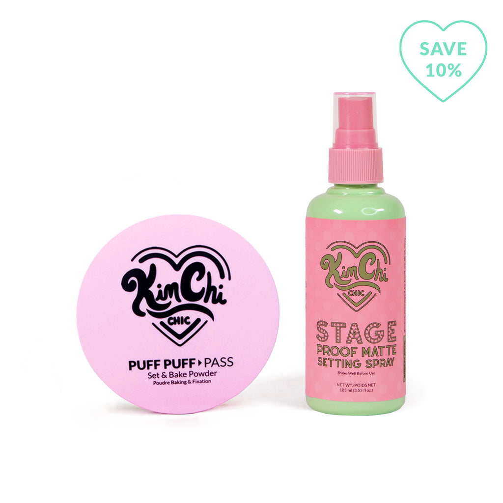 Puff Puff Pass and Stage Proof Matte Setting Spray