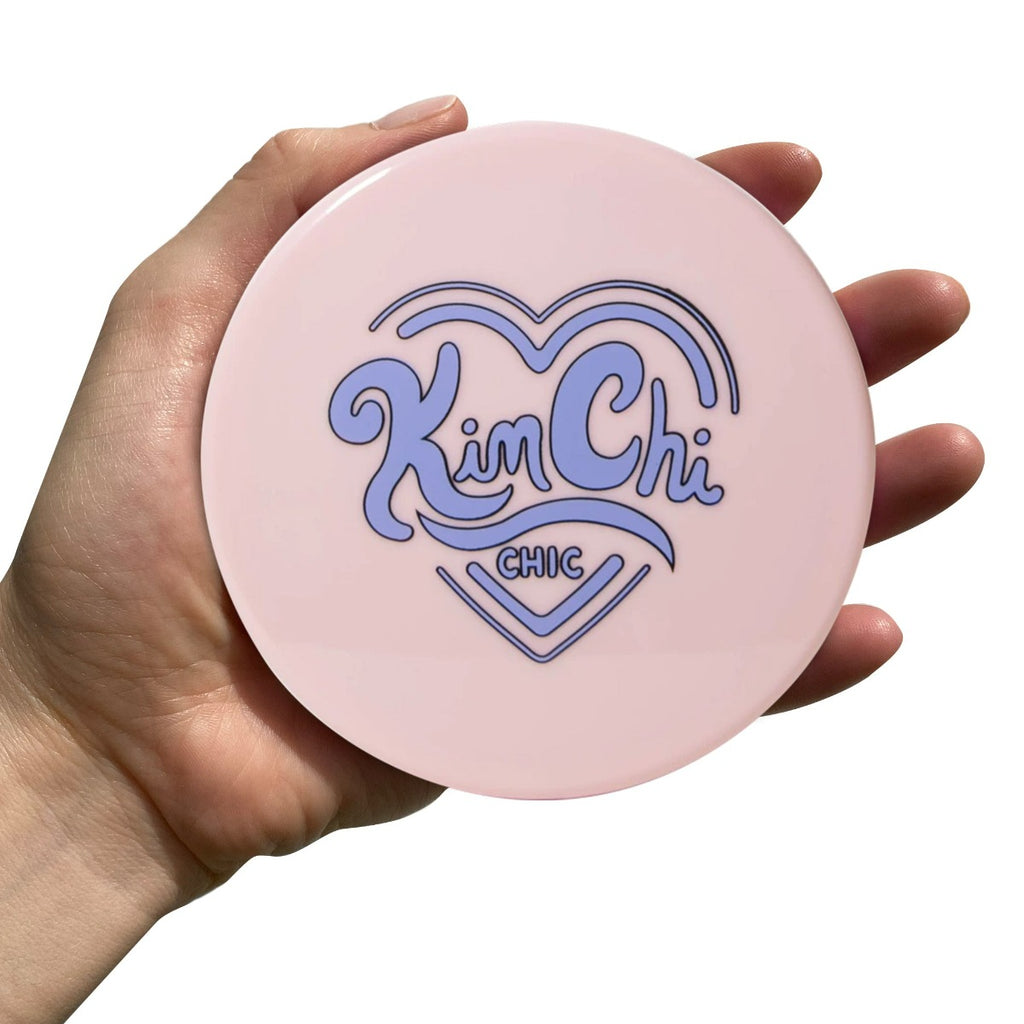 kimchi_chic compact mirror in  Rosy