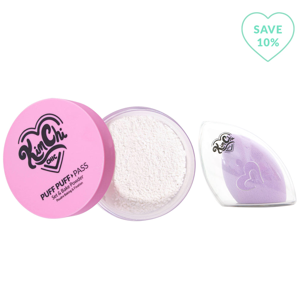 That White Powder, Makeup Sponge To Go with Travel Case