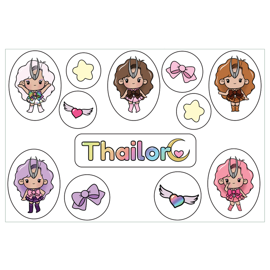 Thailor Sticker Sheet