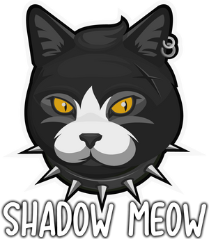 Shadow Meow women's gothic cat clothing brand