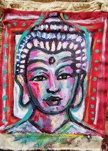 Buddha Prayer Flag - Kimberly_Dawn_Crowder