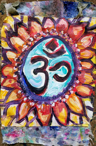 Om Prayer Flag - Kimberly_Dawn_Crowder