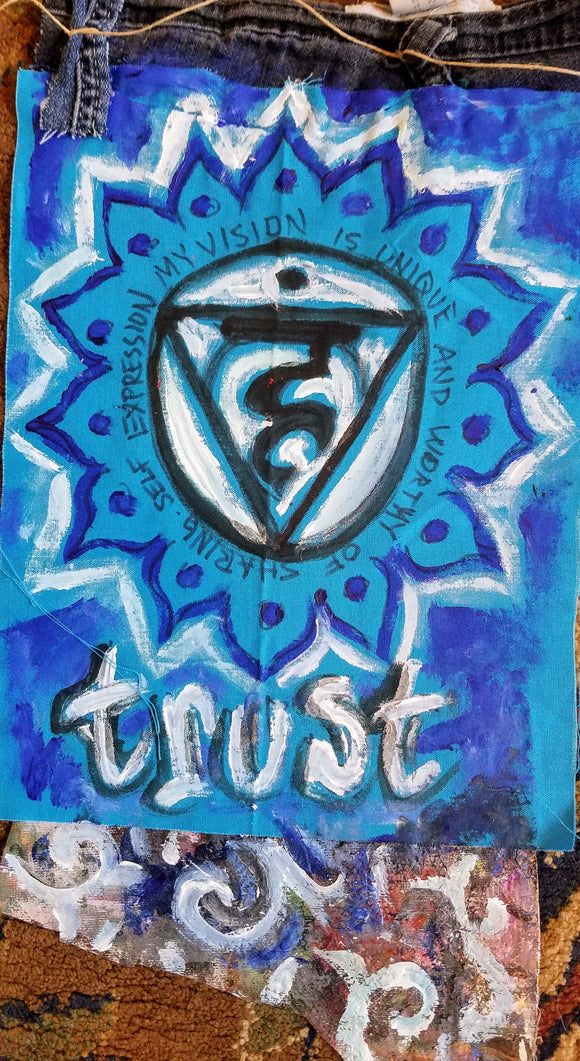 Trust Prayer Flag - Kimberly_Dawn_Crowder