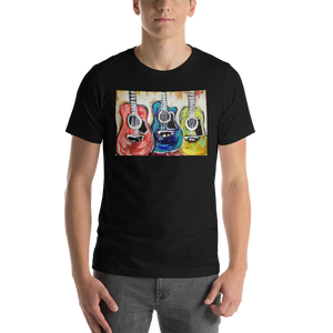 Guitars In Primary Classic Men's Tee