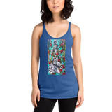 Spine and Roses Women's Racerback Tank