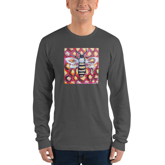 Honeybee Men's Classic Long Sleeve Tee