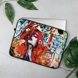 Powerful Vibrant Unique Laptop Sleeve
