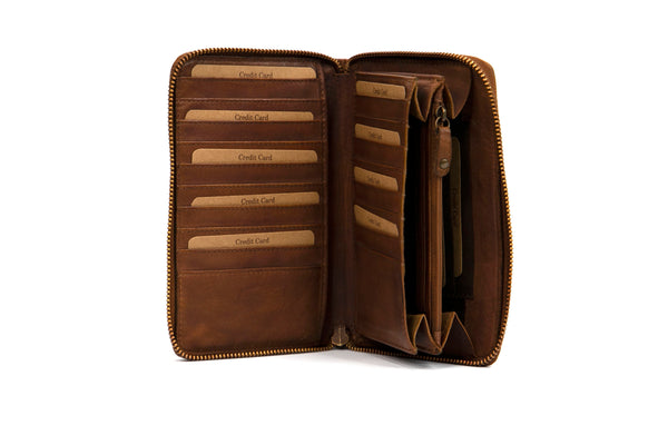Duce leather Wallet - assorted colours