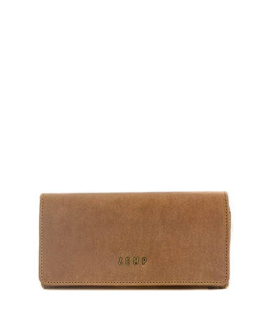 Claire Leather Wallet - Antique