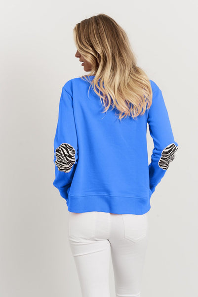 Zebra Cross Windy - Royal Blue