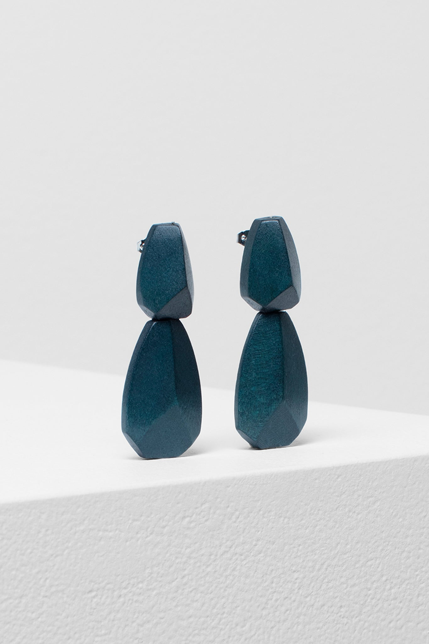 Sunne Drop earrings - Slate