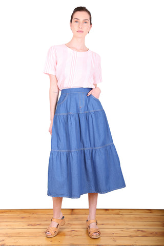 Hawkesbury Denim Skirt