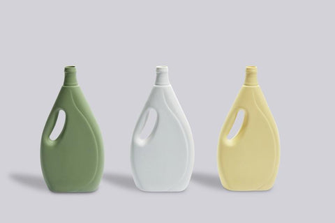 Laundry Detergent Bottle Vase