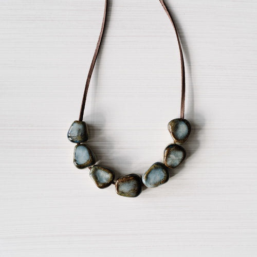 Woodfollk Rough Stone Necklace