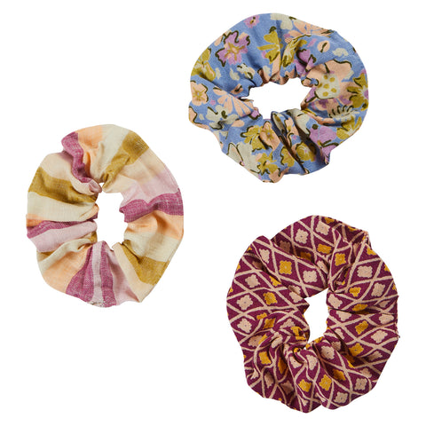 Elisa Hair Scrunchie Set