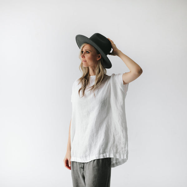 Square Top - White