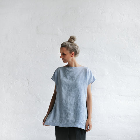 Square Top - Blue
