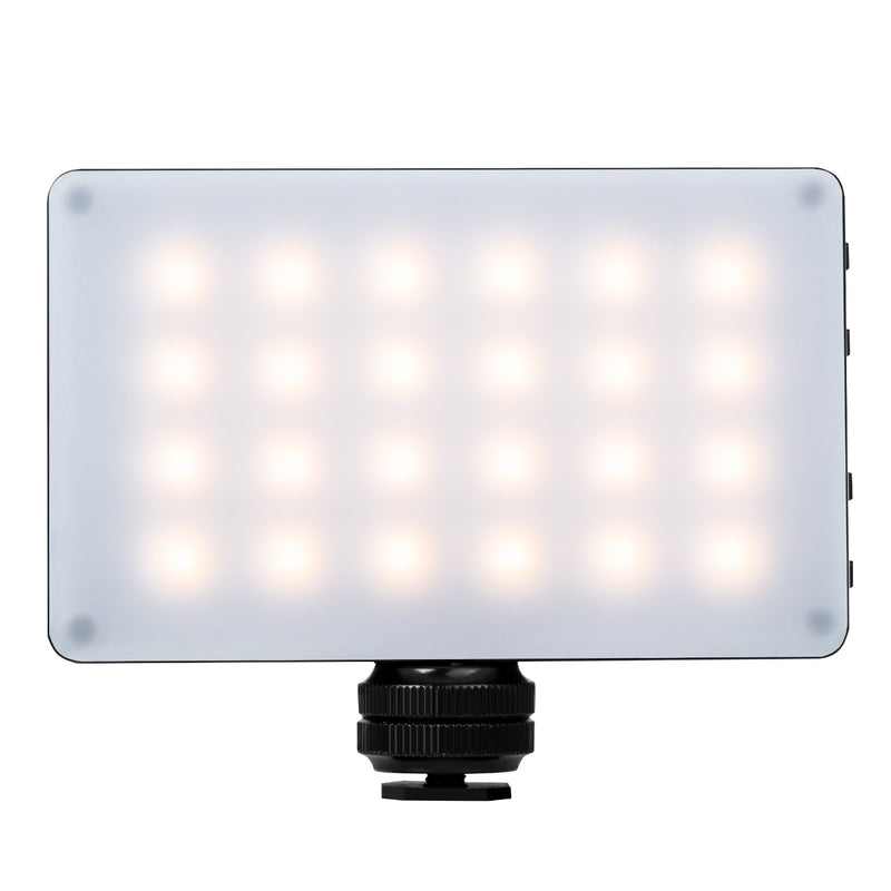 Weeylite RB-08P 8W 2500K~8500K Bi-Color Portable RGB Video Light Mini Pocket Light CRI 95+