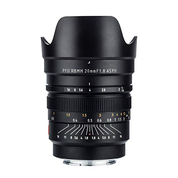 VILTROX 20mm f/1.8 Wide-Angle Full Frame Manual Focus Prime Lens for Sony E Mirror less