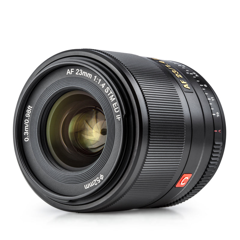 NEW Viltrox 23mm f1.4 E Auto Focus APS-C Prime Lens for Sony E-mount Camera with Large Aperture