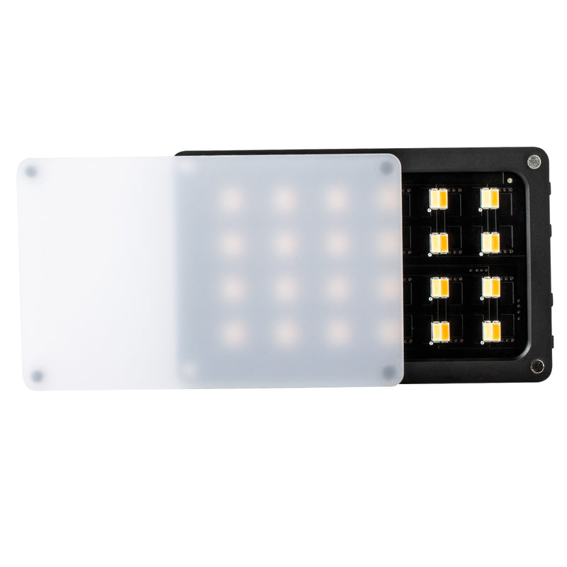 VILTROX RB08 8W 2500K~8500K Bi-Color Portable LED Light CRI 95+