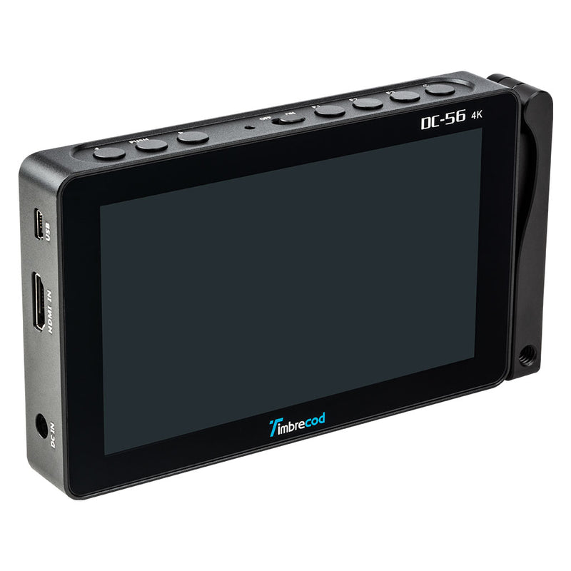 Timbrecod DC-56 HD Portable 4K HD Field Touch Screen Camera Video Monitor  of TFT LCD Panel and Rechargeable Built-in Battery