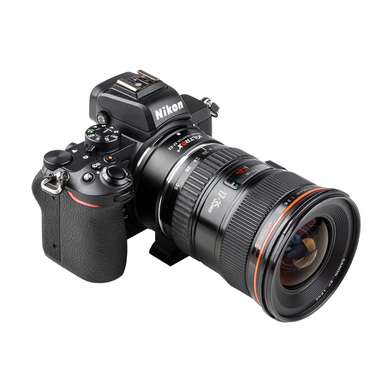 Viltrox EF-Z2 Speed Booster Allows Canon EF lenses Used on Nikon Z-mount Mirrorless Cameras Support Eye AF Lens Stabilization