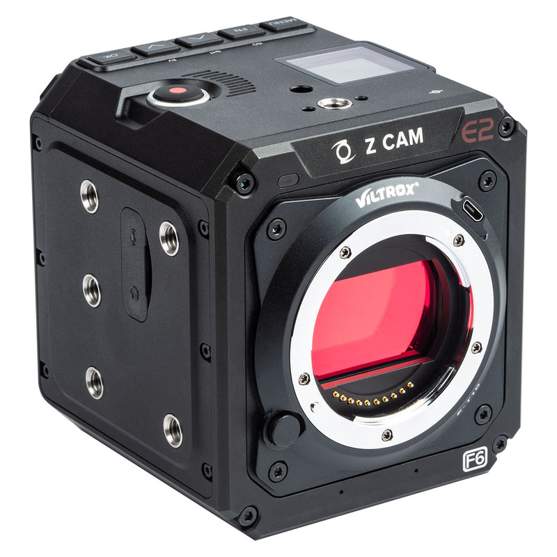 Viltrox Z-cam Mount Adapter for Sony E-mount Lens Goes to Z CAM E2 Series Camera Models