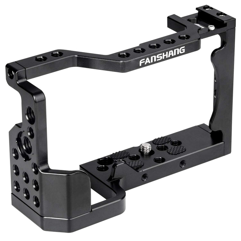 Viltrox FANSHANG Aluminum Camera Cage + Top Handle Grip Video Film Movie Making Kit Rig Stabilizer
