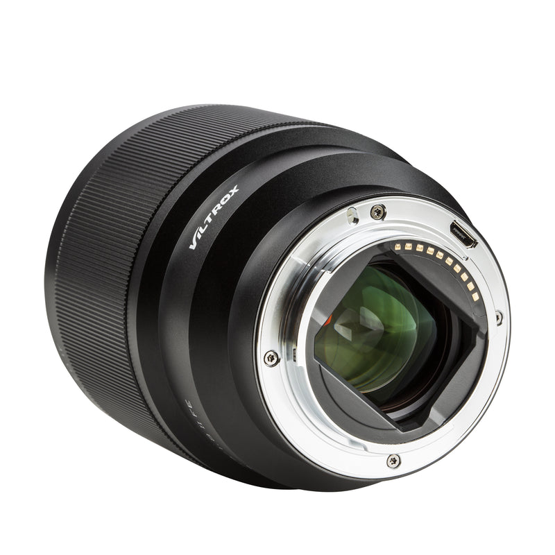 Upgrade Mark II Viltrox Lighter 85mm f1.8 E-mount Sony Autofocus Prime Lens with Quality Lens Hood Fast Eye-AF