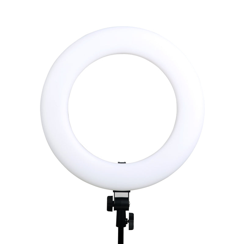 "VILTROX Ring Light with Stand,18"" LED Dimmable Fluorescent Ring Light, 45W Circle Light VL-600T"