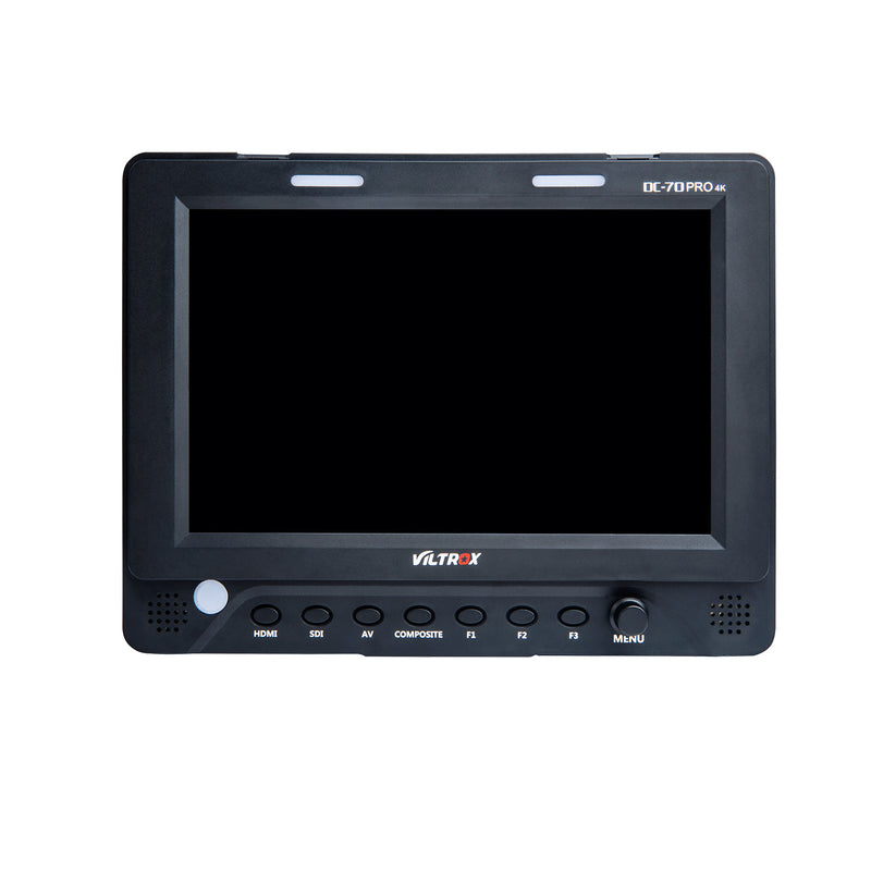 VILTROX DC-70Pro 4K 7 Inch HDMI Camera Field Monitor SDI/HDMI/AV Input Output IPS Screen