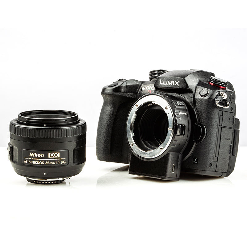 Viltrox NF-M1 Auto Focus Nikon F-mount Lens to Micro Four Thirds M4/3 Panasonic Olympus Camera