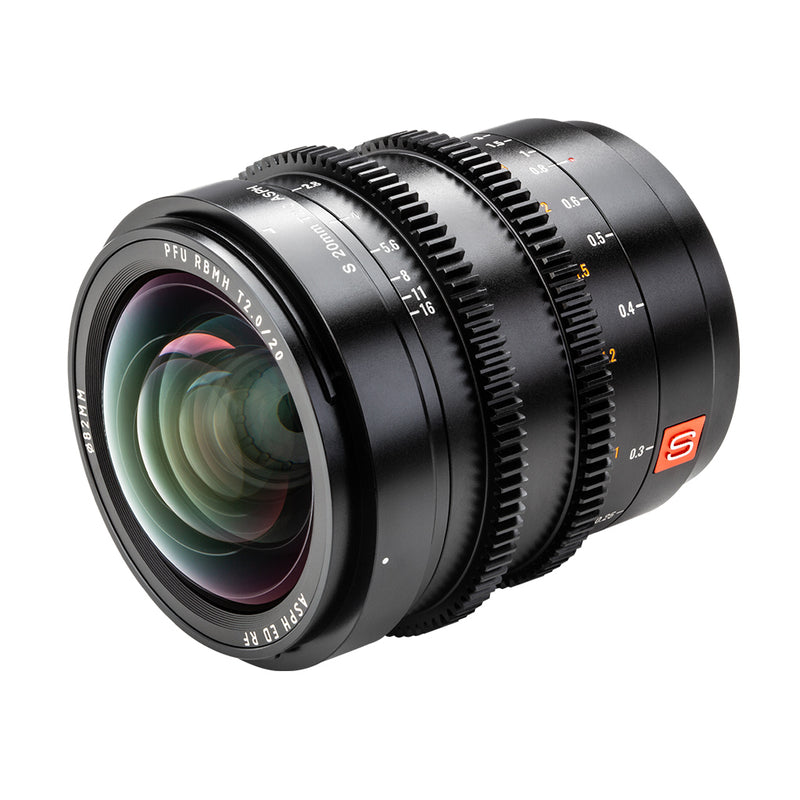 Viltrox 20mmT2.0 L-mount Prime Cinematic MF Wide Lens For Panasonic/Leica L Camera