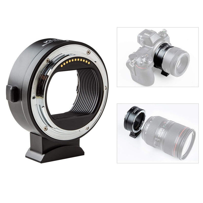 Viltrox EF-Z Lens Mount Adapter Ring Auto Focus Compatible with Canon EF/EF-S Lens to Nikon