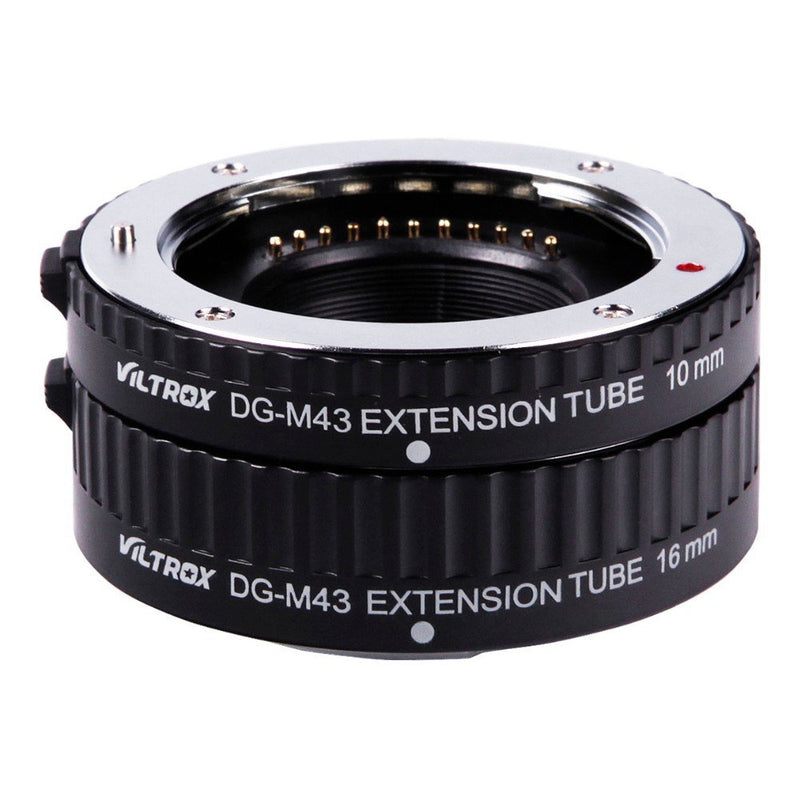 VILTROX DG-M43 Auto Focus Macro Extension Tube for Micro 4/3 Micro Four Thirds Mount Camera