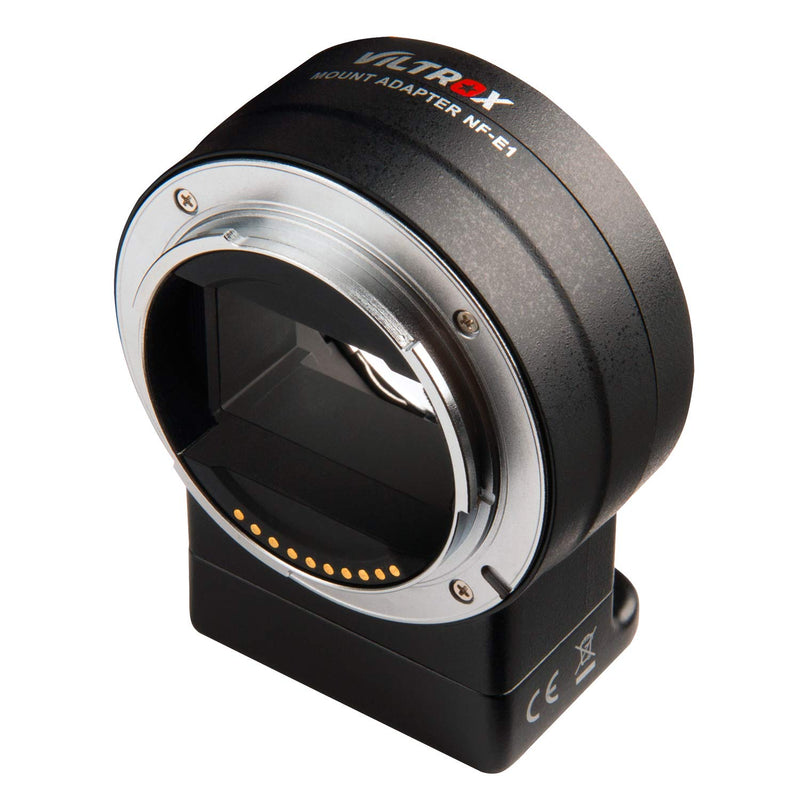 VILTROX NF-E1 Auto Focus AF Electronic Lens Mount Adapter  VR for Nikon F Lens to Sony E Mount