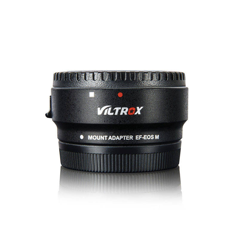VILTROX EF-EOS M Lens Mount Auto Focus Adapter - for Canon EOS (EF/EF-S) D/SLR Lens to Canon EOS M