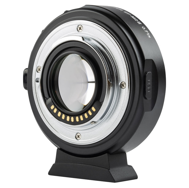 VILTROX EF-M2 II Focal Reducer Speed Booster Adapterfor Canon EF Mount Series Lens to M43 Camera
