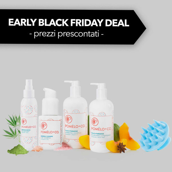 <b>CLEANSE + STYLE SET</b> <br> Early Black Friday Deal <br> -15% presconto