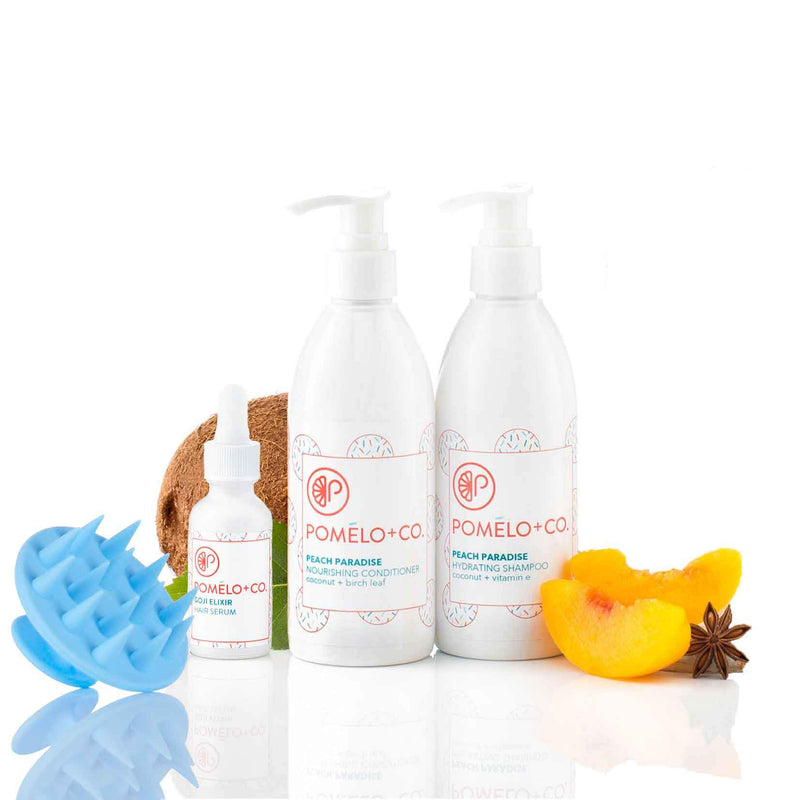 <b>THE GOJI SOFTY SET</b> <br>Shampoo Idratante + Balsamo + </br>Siero Goji