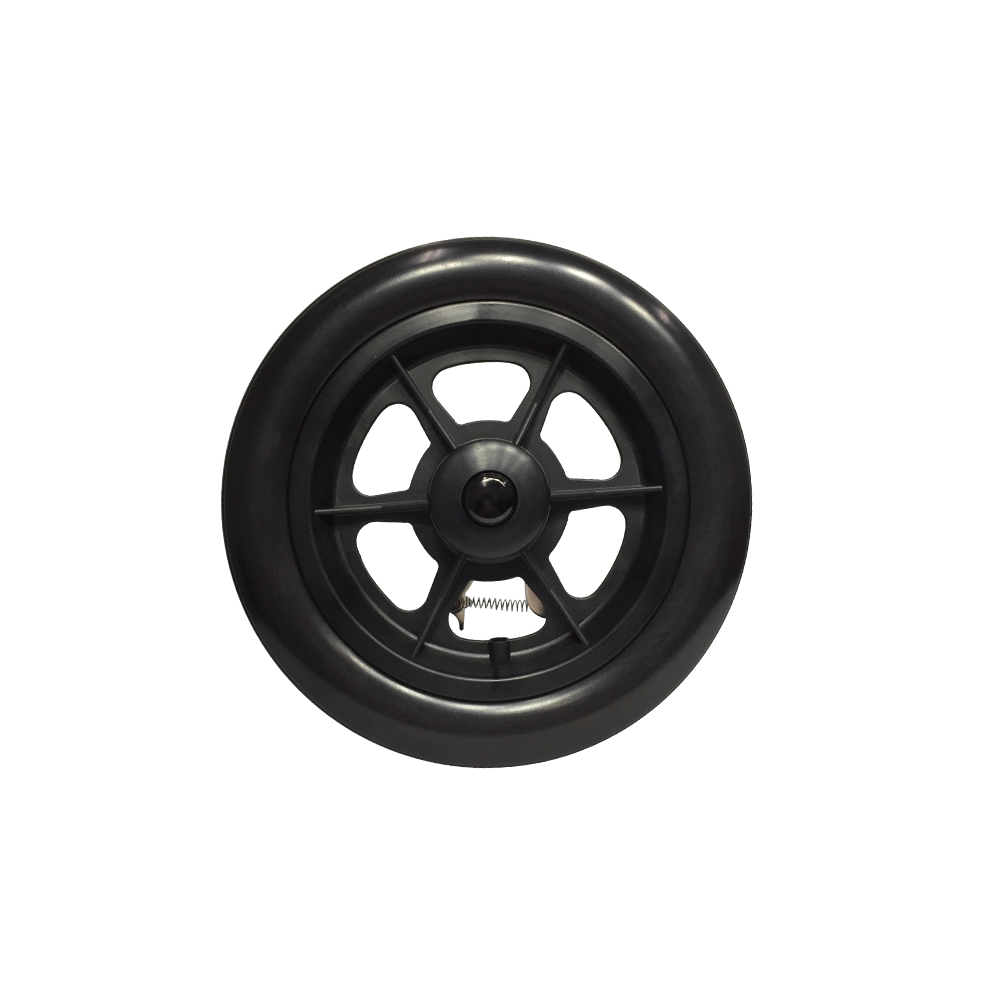 P-WPQC-12-01  12'' 1/2x1.75 Quick Release Plastic Hand Rim with PU Tires
