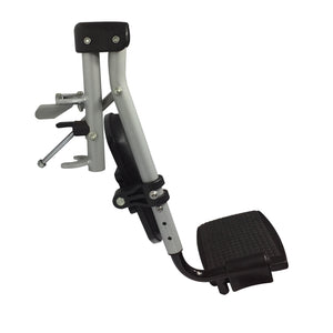 P-DEF-01-01 Elevating Footrest Assembly with Plastic Footplate