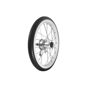 "P-WAC-14-01-02   14""x1.5"" Fixed Aluminum Rim with PU Tires (With Drum Brakes)"