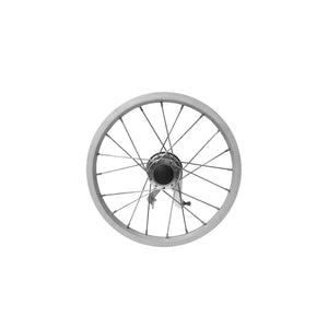 P-WFAC-14-02  14''x1.5 Fixed Aluminum Wheel Rim (With Drum Brake)